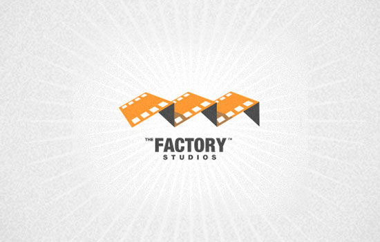 The Factory Studios Logo Design Inspiration