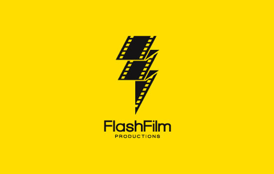 Flash Film Productions Logo Design Inspiration