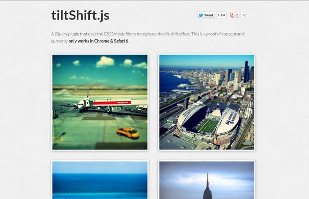 TiltShift.js