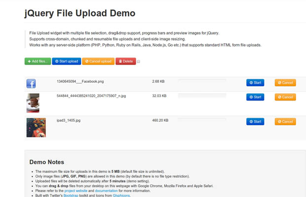 jQuery File Upload