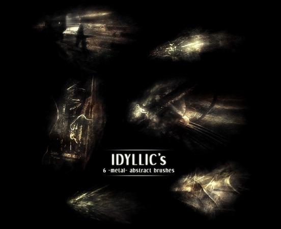 idyllics-metal-brushes