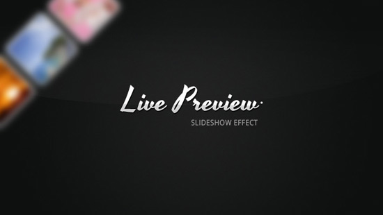 Live Album Previews with CSS3 and jQuery