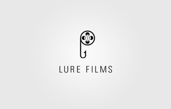 Lure Films Logo Design Inspiration