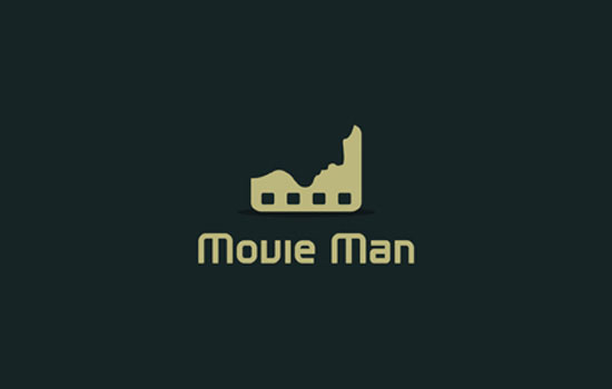 Movie Man Logo Design Inspiration