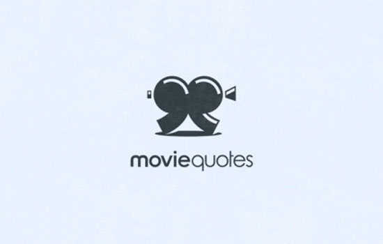 Movie Quotes Logo Design Inspiration