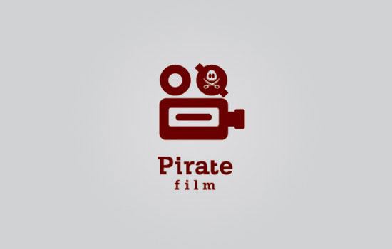 Pirate Film Logo Design Inspiration