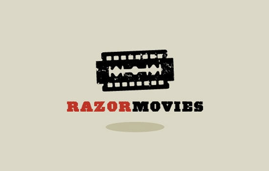 Razor Movies Logo Design Inspiration
