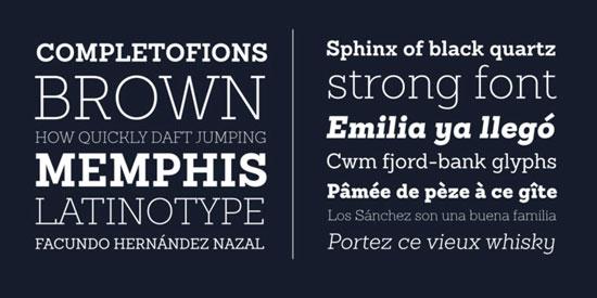 Sanchez Slab Premium Font