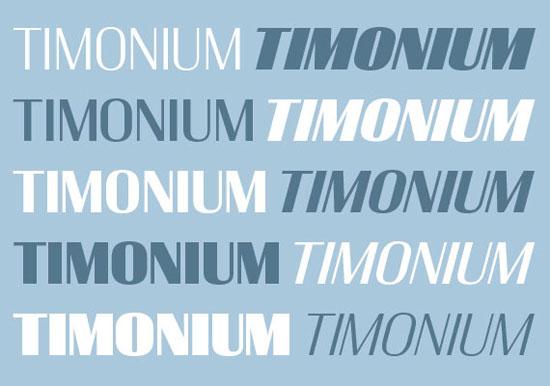 timonium Premium Font