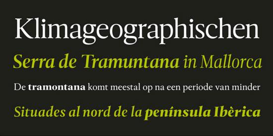 Tramuntana 1 Pro Premium Font