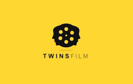 Twins Film Logo Design Inspiration