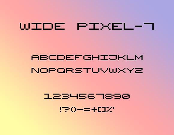 Wide Pixel-7