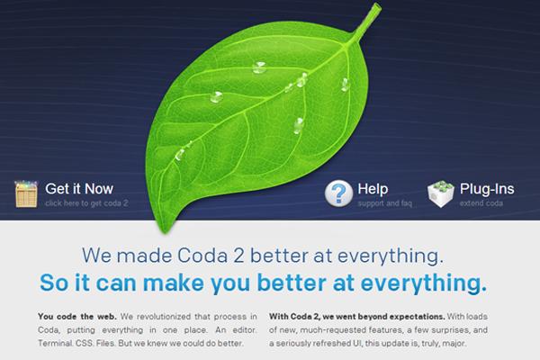osx app coda coding ide html css php
