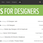 40 Popular Website Job Boards for Design Inspiration