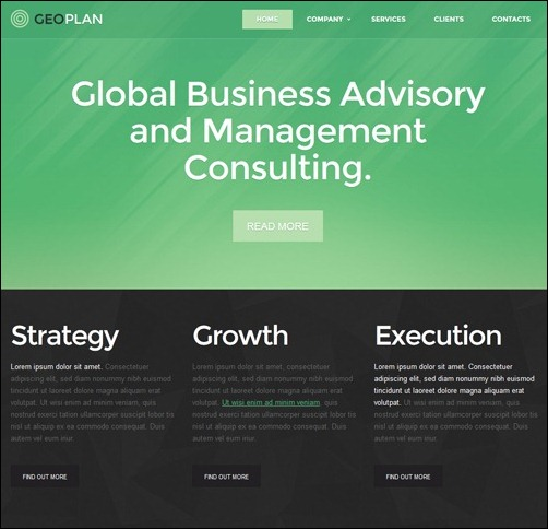 40+ High Quality Business Website Templates