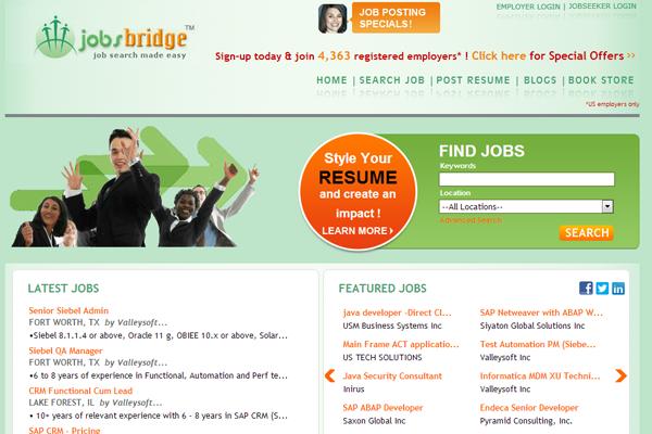 website jobs freelance board design
