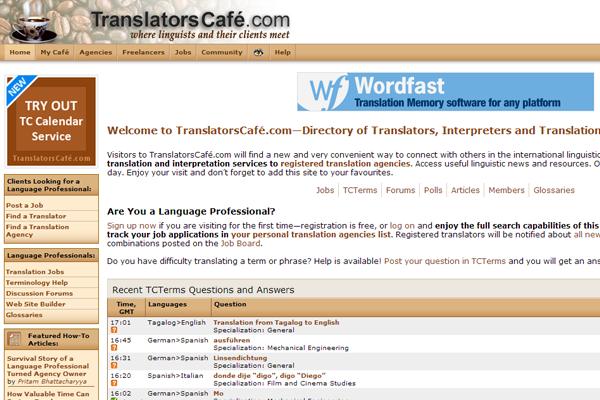 translatorscafe website design jobs translating freelance