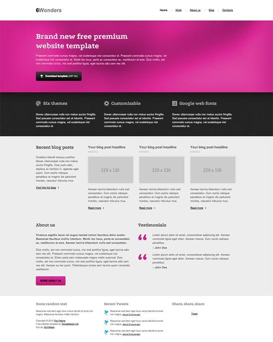 free html