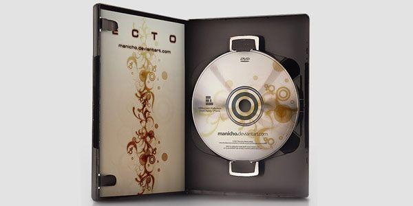 DVD Case Template Mockup