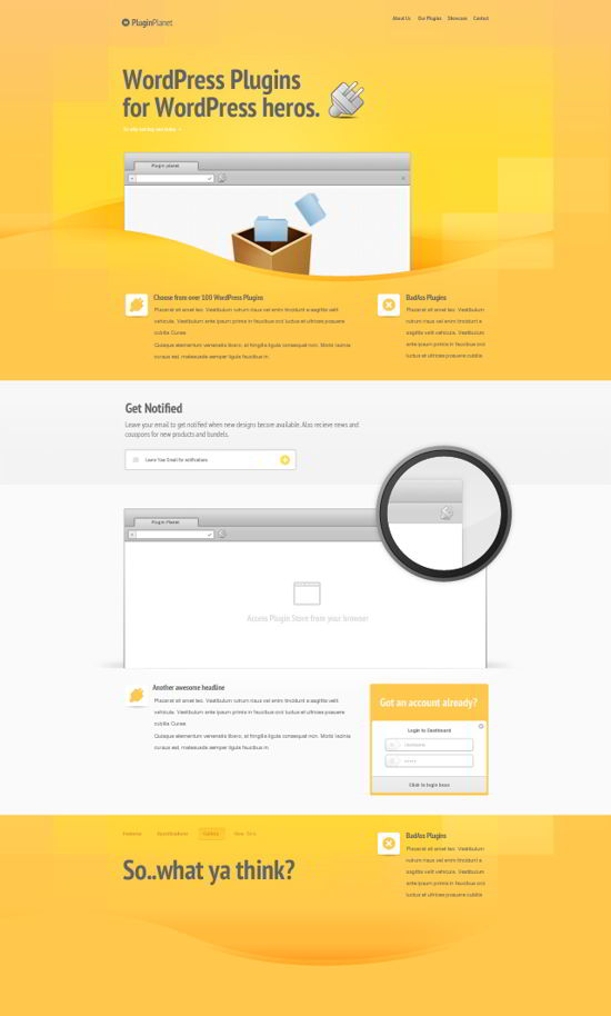 Free PSD Website
