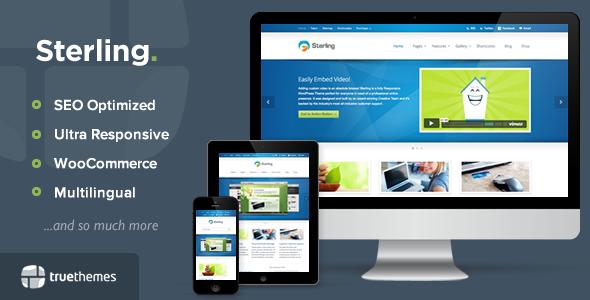 Sterling v2.1.4 – Responsive WordPress Theme