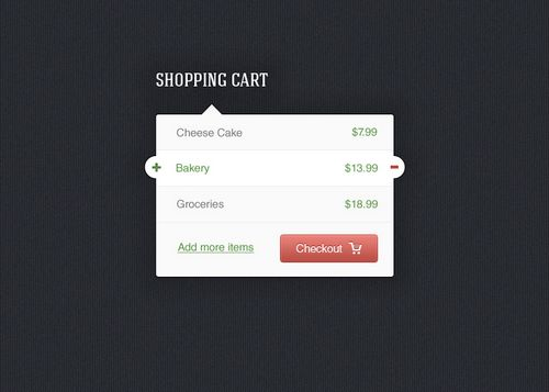 25 Free Shopping Cart PSDs for an Awesome E-commerce Website