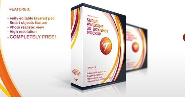 Software BoxSet Mockup