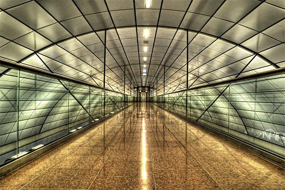 Hamburg International Airport HDR