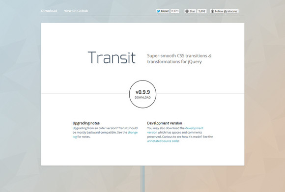Super Smooth CSS Transitions for jQuery