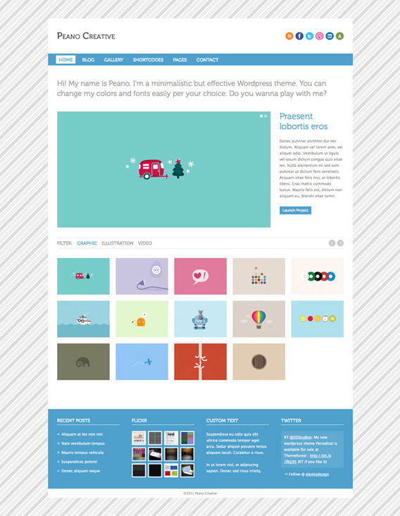 11. website psd template