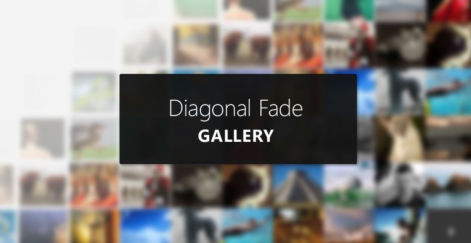 Smooth Diagonal Fade Gallery with CSS3 Transitions