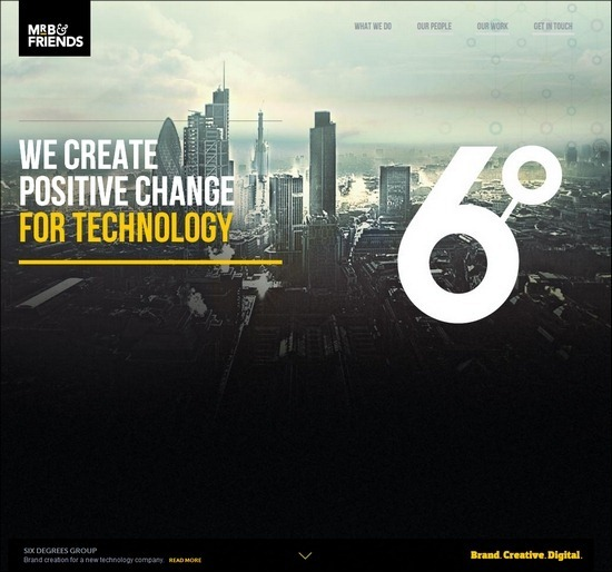 60+ Dark Portfolio Websites – Intense Web Design Inspiration