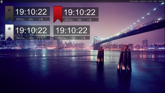 xclock-for-rainmeter