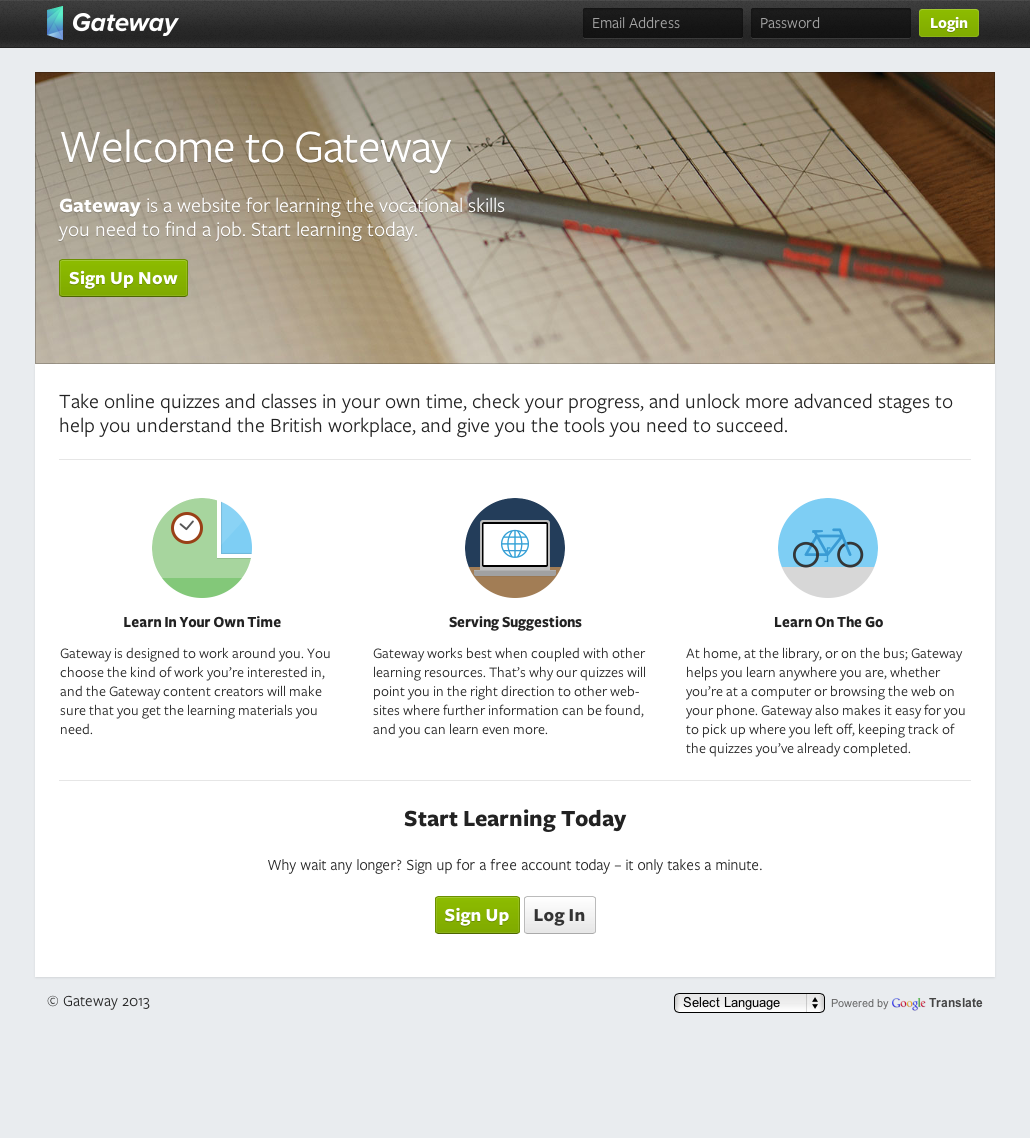 Web Design Workshop #36: Gateway Learning