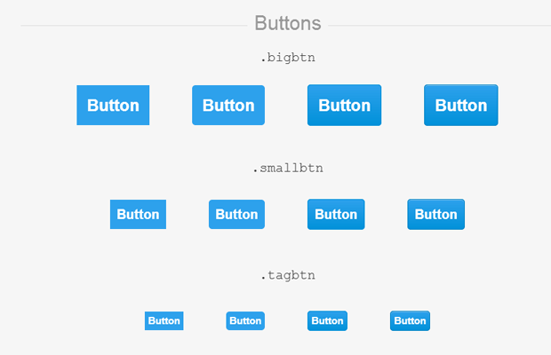 20 Free Open Source CSS3 User Interface Kits