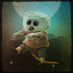 Create a Cute Zombie Illustration in Photoshop