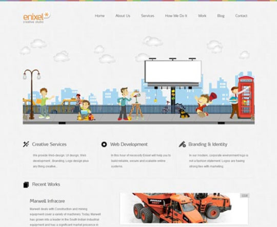 12.html5 website