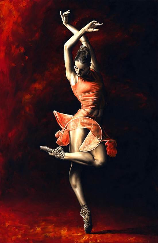 the passion of dance retro poster design