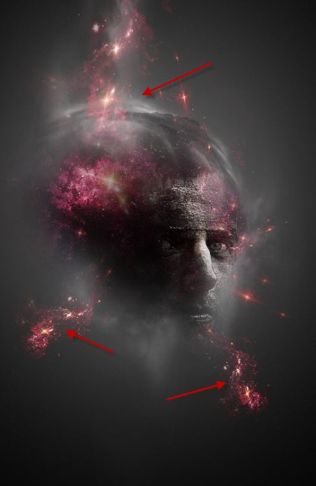 4 attach1 456x700 Create Facial Photo Manipulation Surrounded by Electrified Orbs in Photoshop