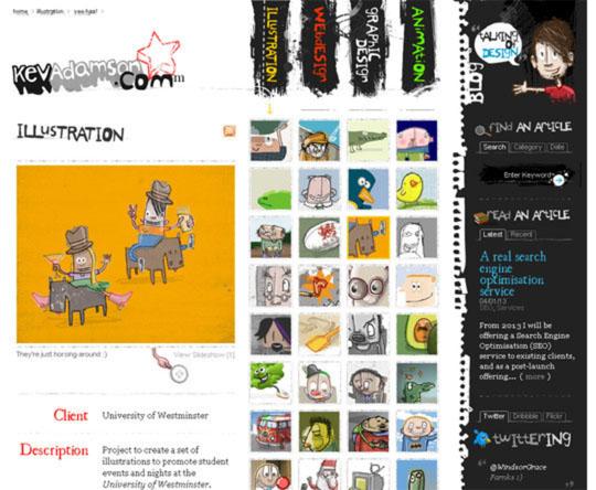 8.html5 website