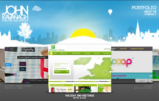 9.html5 website