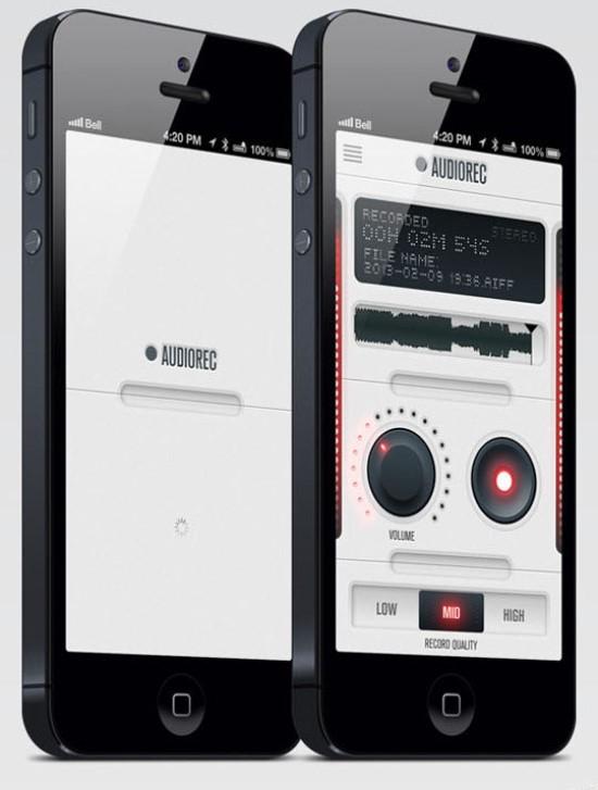 AudioRec App