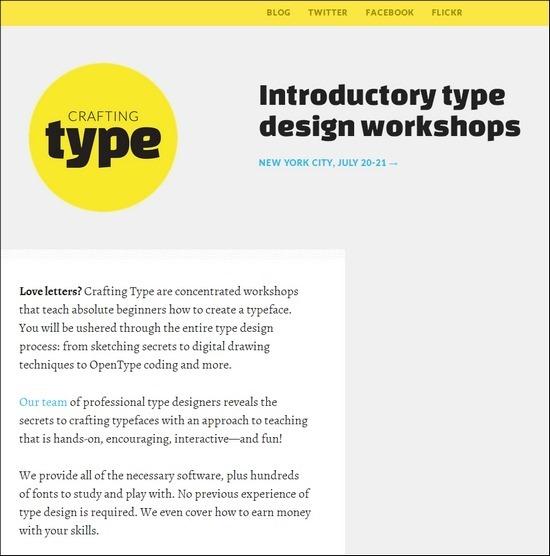 Crafting Type