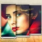 Design a Roll-up Banner Stand in Photoshop