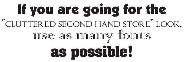 Limit Fonts