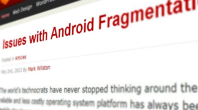 Issues with Android Fragmentation
