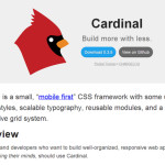 Cardinal: A Small & Mobile First CSS Framework