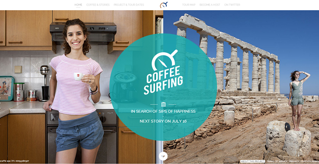 coffeesurfing 30 Outstanding Full screen Websites