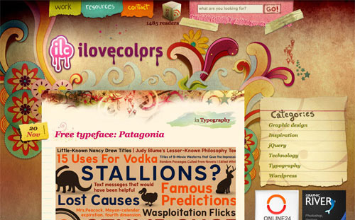 colorful-blog-design