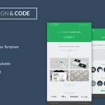 Design & Code – free PSD theme by Diogo Dantas